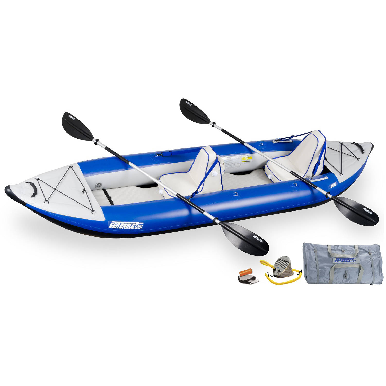 Sea Eagle Explorer Inflatable Kayak 380XK Deluxe