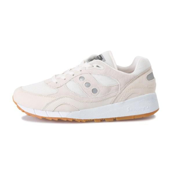 Mens Saucony Shadow 6000 Machine Pack Tan Eggnog Gum Brown White S7042