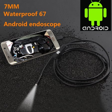Wireless Waterproof USB Port 7mm Visual Lens Mini Camera Portable Inspection Cam for Android Phone - image 4 of 7