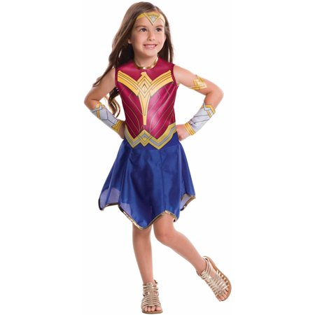 Wonder Woman Child's Costume, Small (4-6) - Child's Wonder Woman Costume