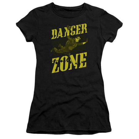 Archer - Leap Of Faith - Juniors Teen Girls Cap Sleeve Shirt - Small