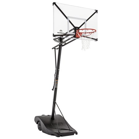 """Silverback NXT Portable Basketball Hoop (54"""") with Quick-Play Design"""