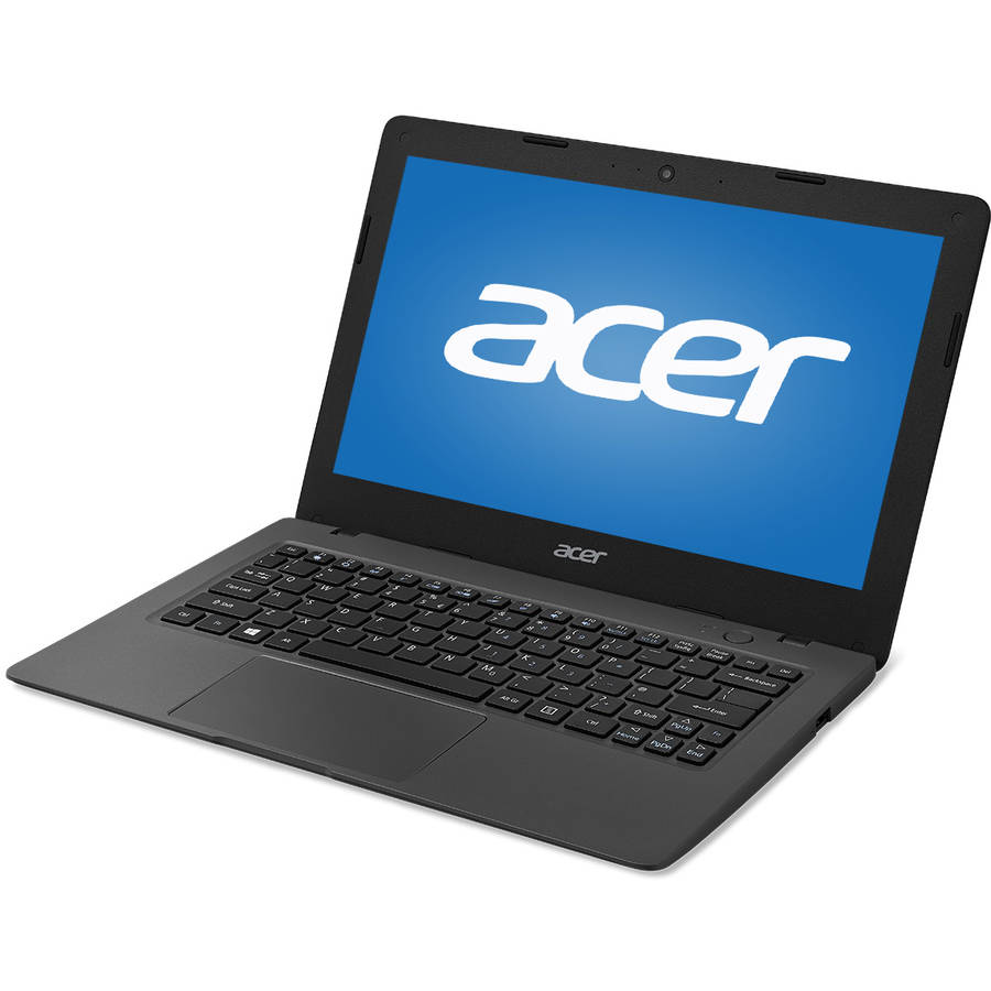 "Refurbished Acer Black 11.6"" Aspire One Cloudbook NX.SHFAA.002.RB1 Laptop PC with Intel Celeron N3050 Processor, 2GB Memory, 32GB Solid State Drive and Windows 10 Home"