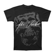 Used Men's  Pixel Skull Jumbo Print T-shirt Black