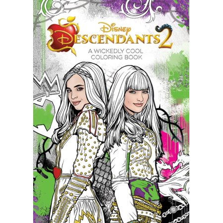 Coloring Page Halloween (Descendants 2 a Wickedly Cool Coloring)