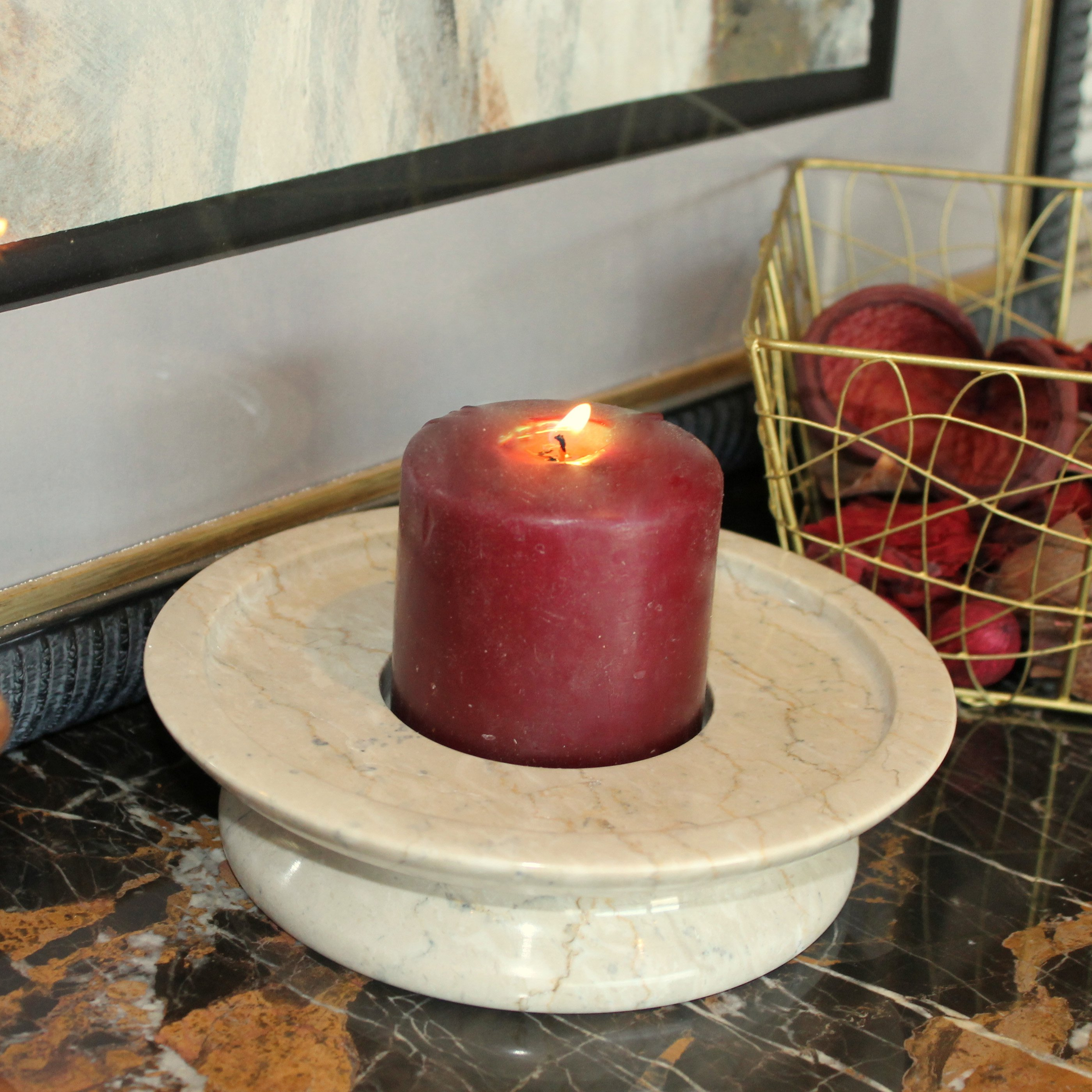 Cameo 3 Tier Candle Holder