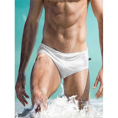 fd1408cefeee Fashion Men Breathable Trunks Pants Beach Solid Color Running Swimming  Underwear - Walmart.com
