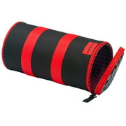 Schwinn Delmar Bicycle Handlebar Cargo Roll Bag - Red/Black