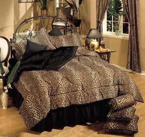 Kimlor Leopard Print Bed-In-A-Bag Set LE328