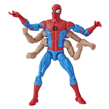 Spider-Man Legends Series 6-inch Six-Arm Spider-Man