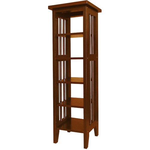 5-Shelf Media Storage Tower, Multiple Finishes