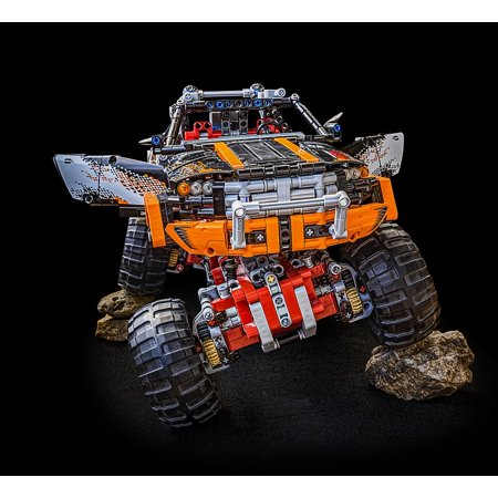 LAMINATED POSTER Lego Lego Technic Monster Truck Technic Technology Poster Print 24 x 36