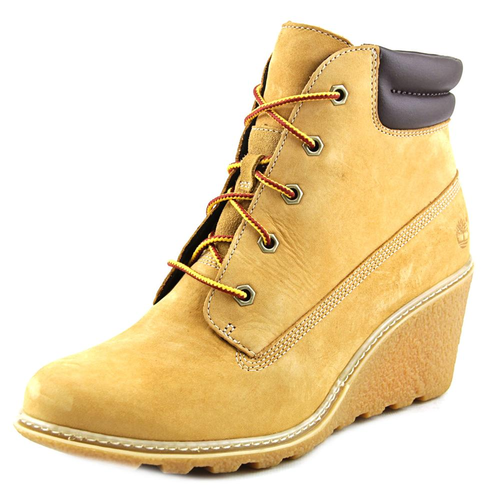 "Timberland Amston 6"" Hiker Women US 7.5 Tan Chukka Boot"