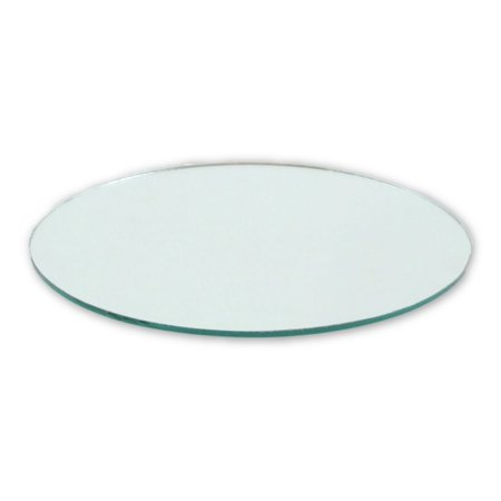 4 Inch Glass Craft Small Round Mirror 2 Pieces Mosaic Mirror Tiles