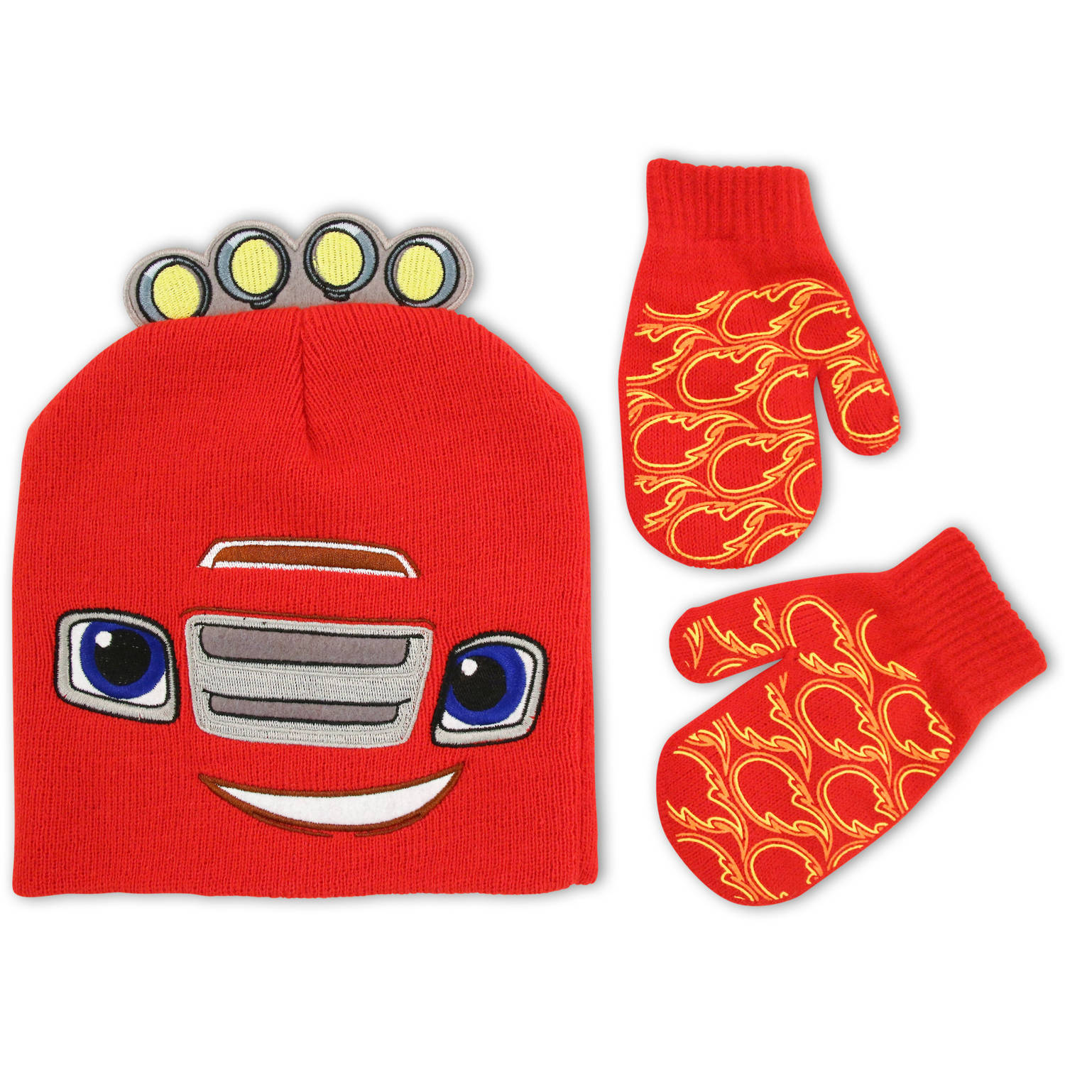 Nickelodeon - toddler - Blaze Hat and Mitten Set