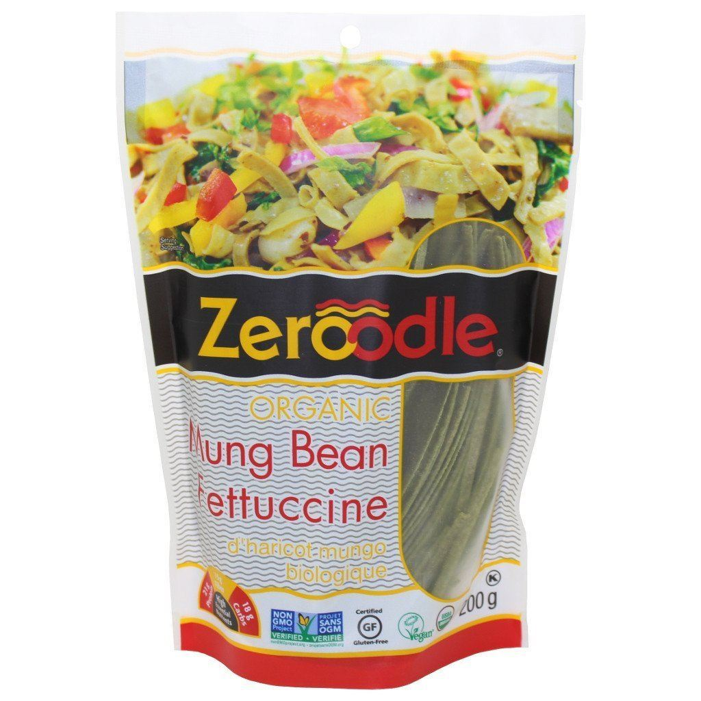 Zeroodle Organic Mung Bean Protein Pasta - Fettuccine
