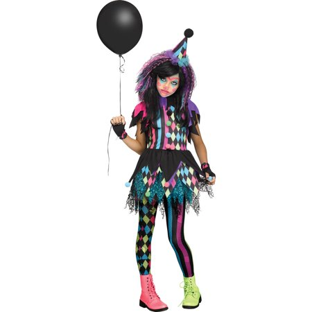 Twisted Circus Child Costume - Sound Circus Halloween