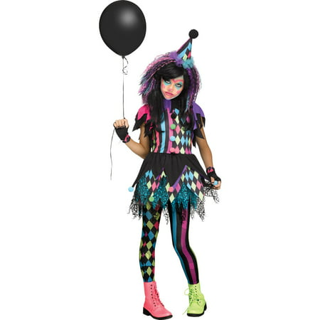 Twisted Circus Child Costume](Circus Theme Costume)
