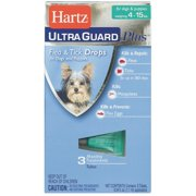 Hartz UltraGuard Plus Flea and Tick Treatment Drops for Small Dogs