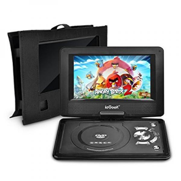 ieGeek 12.5 Portable DVD Player Kit - Portable DVD Player...