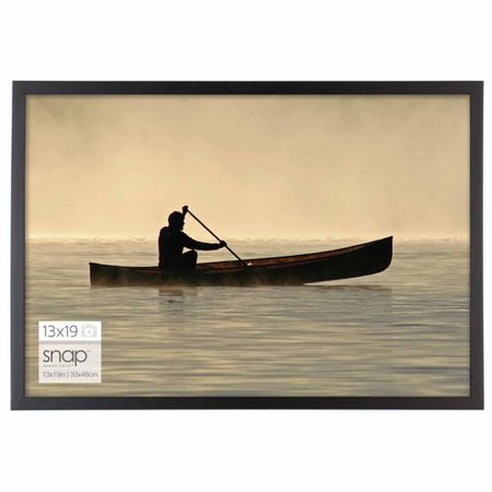 13 x 19 black snap wood frame