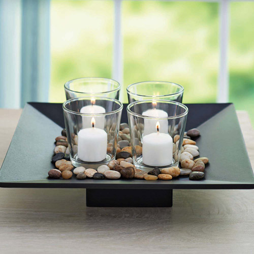 Better Homes and Gardens Candle Holder Garden Set