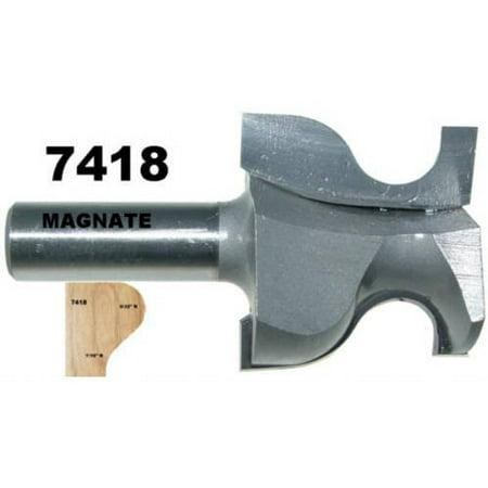 Magnate 7418 Door Lip Finger Pull Router Bit Mdash 1 5 8
