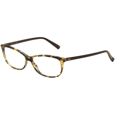 Christian Dior Eyeglasses CD3271 CD/3271 LBV Havana/Plum Optical Frame 53mm