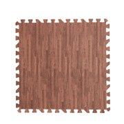 VONKY Home Floor Mat Carpet Blanket Exercise Gym Bathroom EVA Rug Kid Play Crawling Wood Pattern Foam Carpet