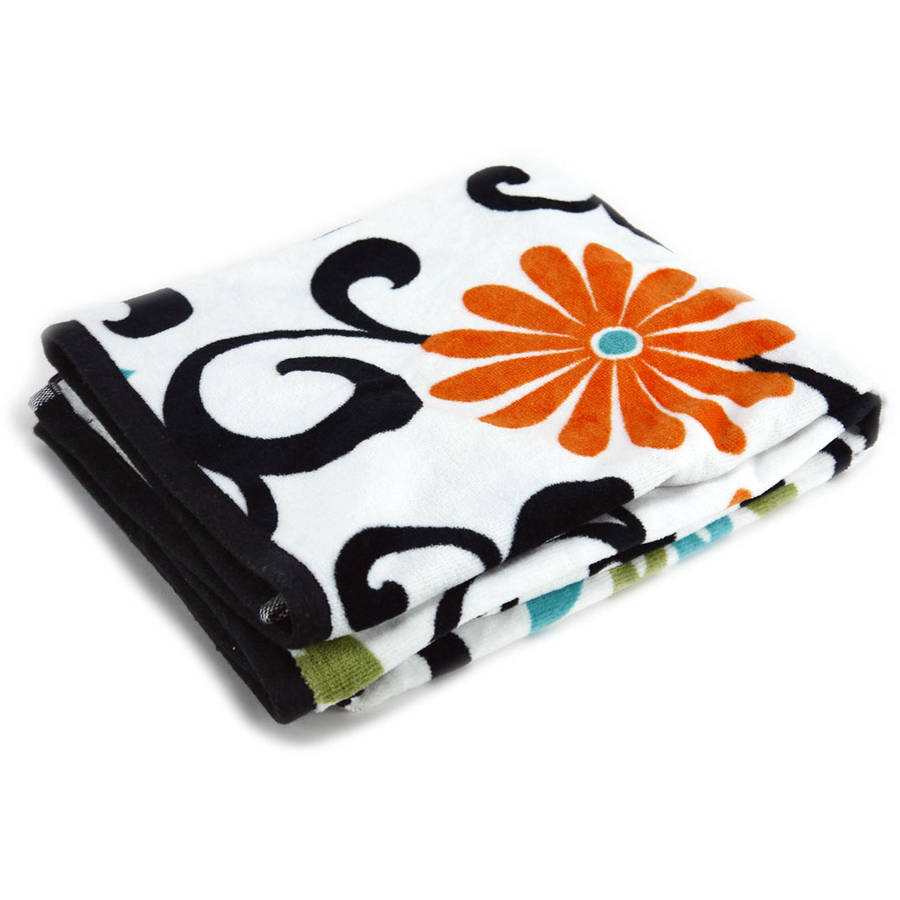 Waverly Pom Pom Printed Towel Collection