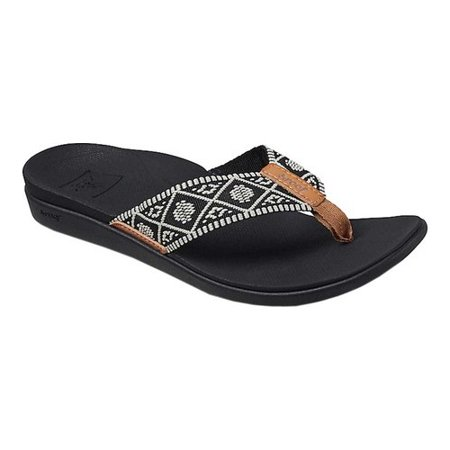Women's Reef Ortho Bounce Woven Flip Flop