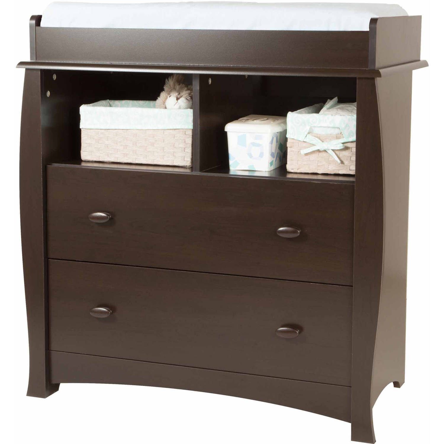 South Shore Beehive Changing Table with Removable Changing Station, Multiple Finishes