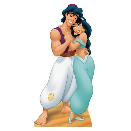 Vampire Cardboard Stand - Advanced Graphics 787 Aladdin and Jasmine- 70