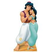 """Advanced Graphics 787 Aladdin and Jasmine- 70"""" x 35"""" Cardboard Standup"""