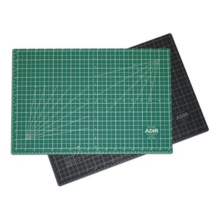 Reversible Cutting Mat (Adir Self Healing Cutting Mat Reversible Green/Black 12