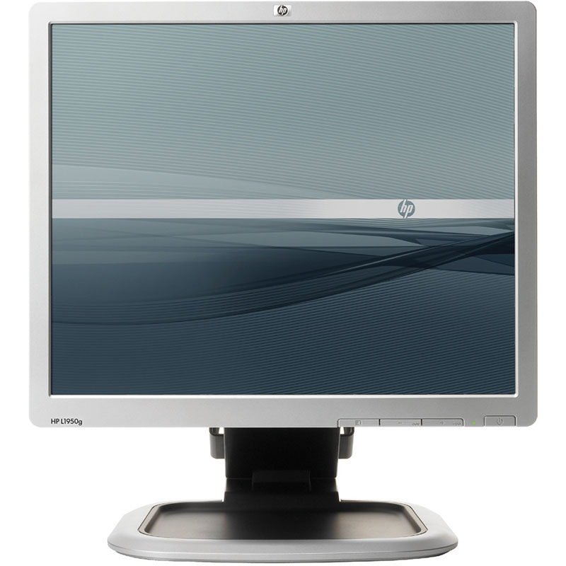 "Off Lease Scratch and Dent HP L1950G 1280 x 1024 Resolution 19"" LCD Flat Panel Computer Monitor Display"