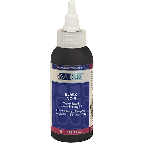 Yudu Ink, Black 3oz.