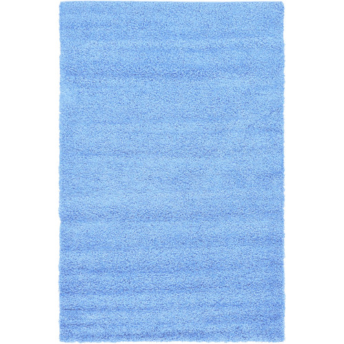 Affinity Home Collection Hand-Woven Blue Area Rug