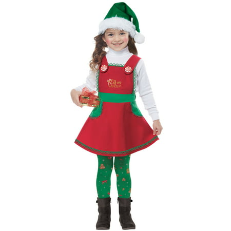 Elf in Charge Toddler Costume (Elf Halloween Mystery Bag)