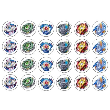 Beyblade ~ Two Dozen ~ Cupcake Topper ~ Edible Frosting  Image - Spiderman Cupcake Topper