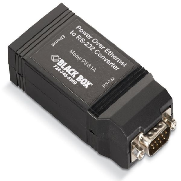 Black Box Network Services Power Over Ethernet To Rs-232 ...