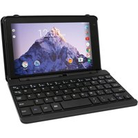 "Refurbished RCA RCT6873W42KC B Voyager 7"" 16GB Charcoal Tablet and Keyboard Case Android 6.0"