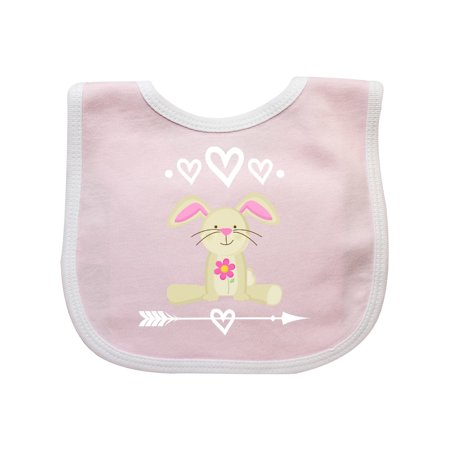 Easter Bunny Girls Outfit Baby Bib - Easter Bunny Baby Outfit