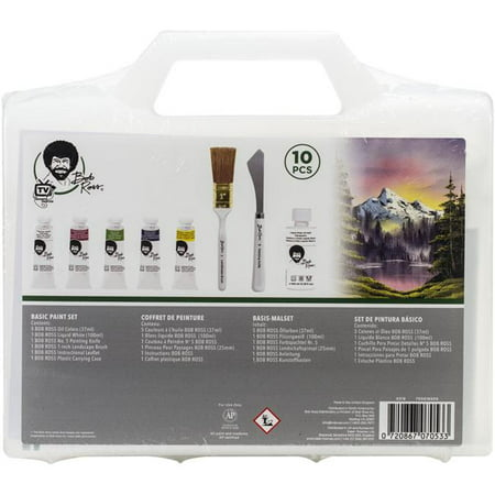 Bob Ross Basic Paint Set - 37 ml Tubes