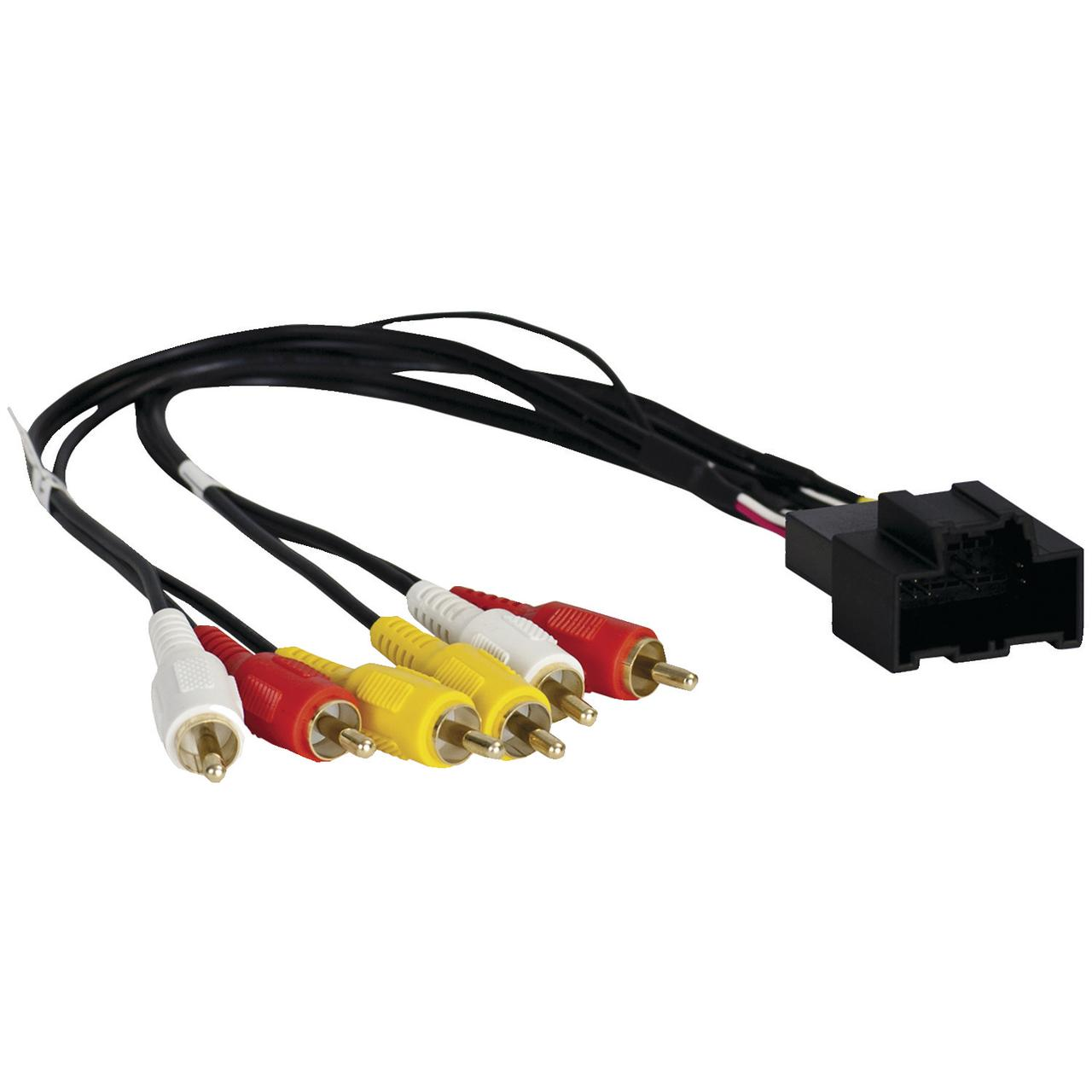 Axxess GMRSAV-2 Rse A/V Wiring Harness For 2012-2014 GM Vehicles With Nav