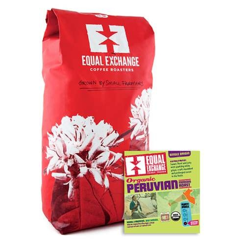 Org Peru Whole Bean 5lb EQL -