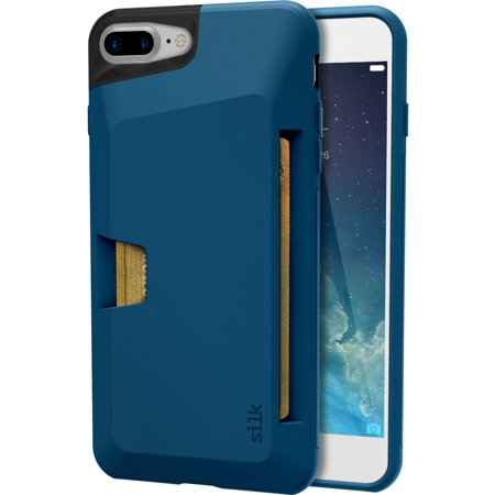 info for 005fa 72d67 Silk iPhone 7 Plus / 8 Plus Wallet Case - Wallet Slayer Vol.1 [Slim +  Protective + Grip] Credit Card Holder for Apple iPhone 8 Plus /7 Plus -  Blues on ...