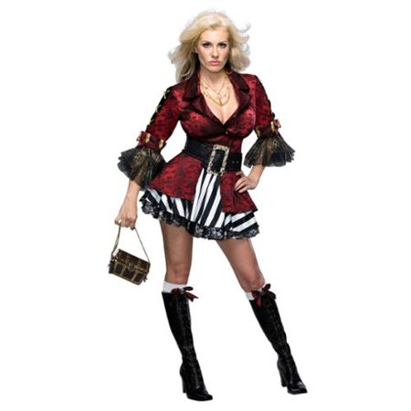Sexy Adult Womens Halloween Costumes Lady Pirate Buccaneer Wench Girl Costume Theme Party - Halloween Themed Restaurants