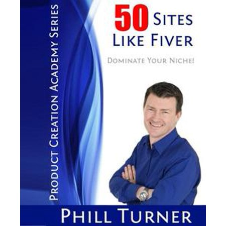 50 Sites Like Fiverr - eBook - Sites Like Sparkle In Pink
