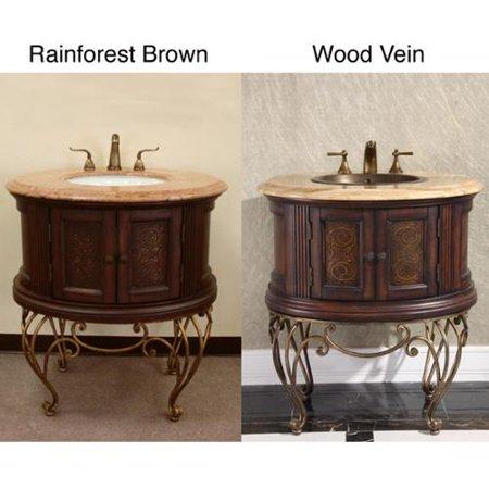 single sink vintage style natural stone top bathroom vanity walmart
